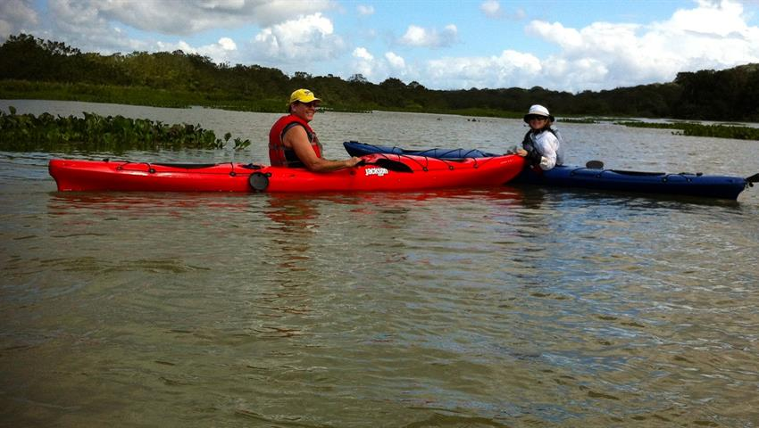 Panama Canal single person kayak, Kayak Tour Through The Panama Canal