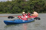 Panama Canal kayak ride, Kayak Tour Through The Panama Canal