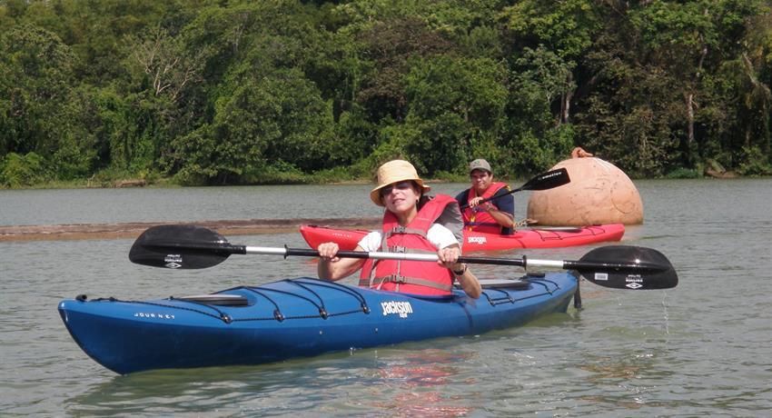 Panama Canal kayak ride, Kayak Tour Through The Panama Canal