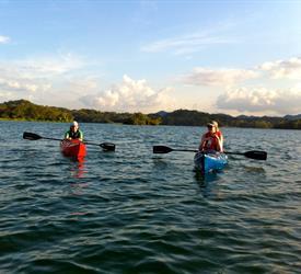 Kayak Tour Through The Panama Canal