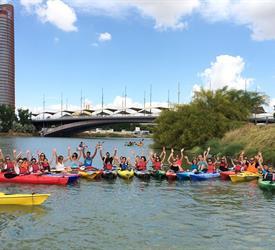 Kayaking in Seville, Water Activities in Spain