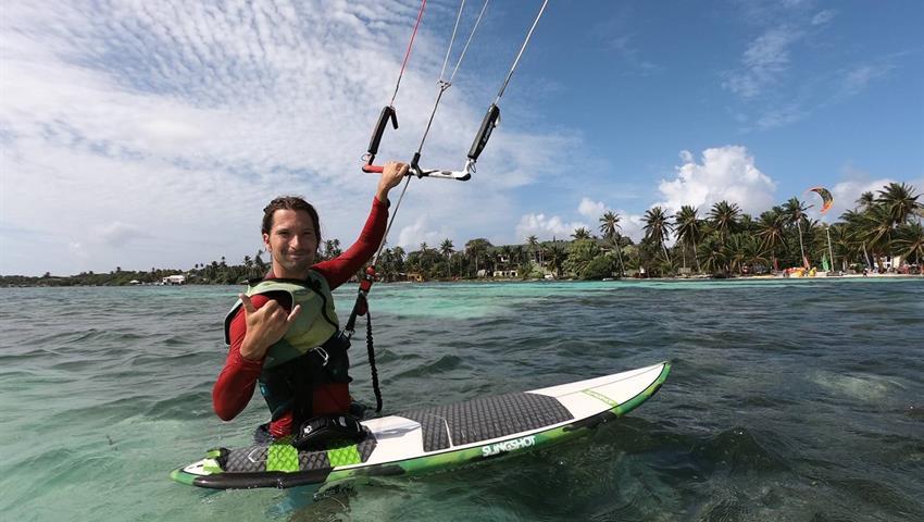 niiiiice, Lecciones de Kitesurf en Playa Venao