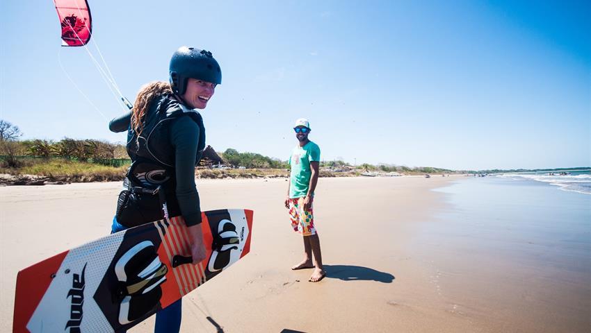 Get ready, Lecciones de Kitesurf en Playa Venao