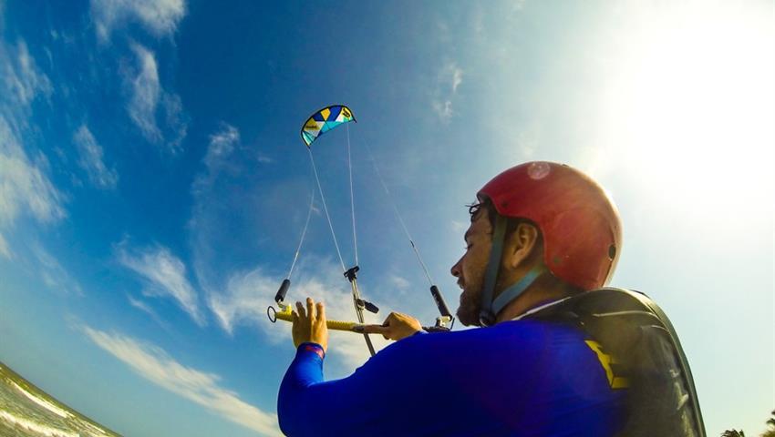 The power of the Wind, Lecciones de Kitesurf en Playa Venao