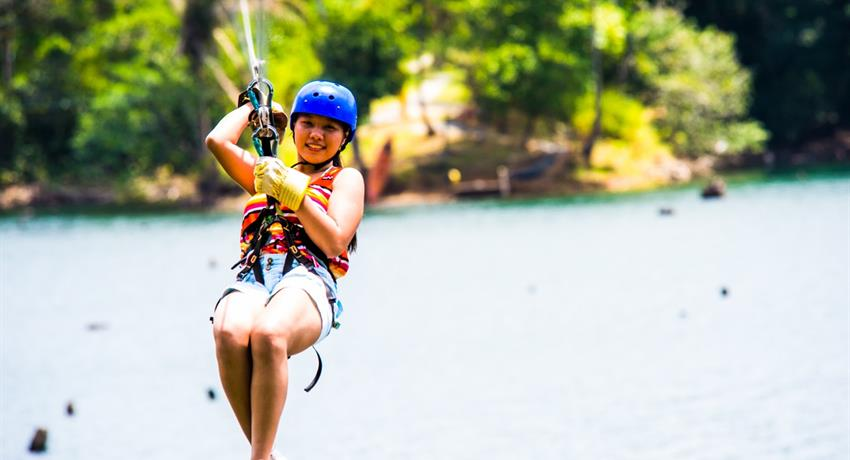 8, Gatun Lake Canopy Zip Line Tour