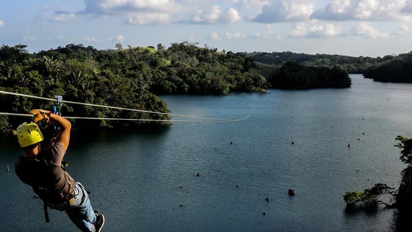 10, Gatun Lake Canopy Zip Line Tour