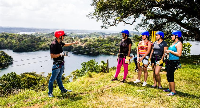 11, Gatun Lake Canopy Zip Line Tour