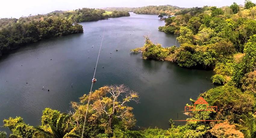 5, Gatun Lake Canopy Zip Line Tour