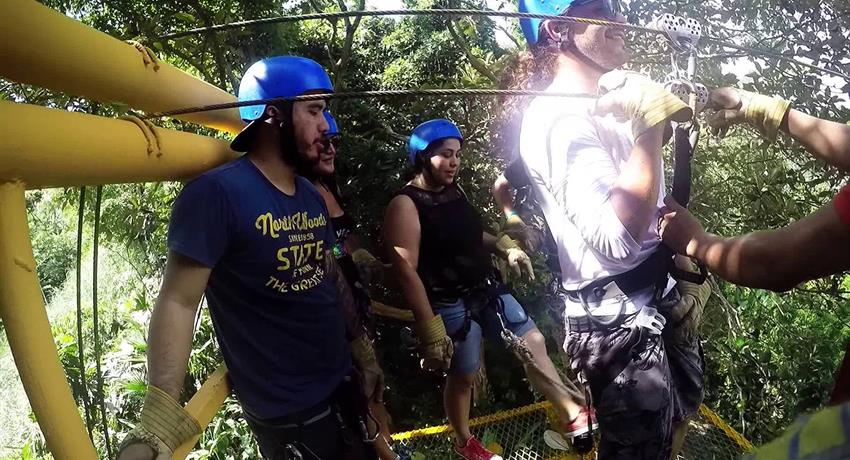 6, Gatun Lake Canopy Zip Line Tour