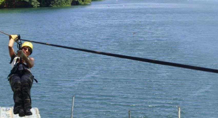 7, Gatun Lake Canopy Zip Line Tour