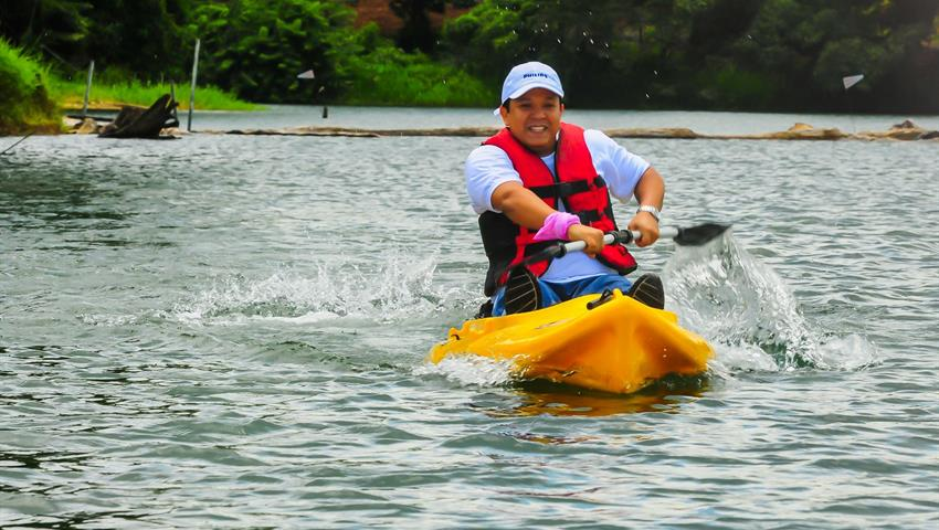 2, Lake Gatun Kayak Tour