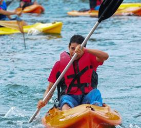 Tour en kayak por el lago Gatún