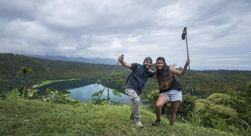 Lago hule 2, Laguna Hule Treking Day