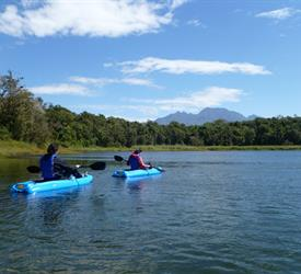 Kayak en Las Lagunas