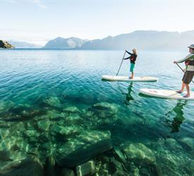 Lake Escape , Water Activities in New Zealand