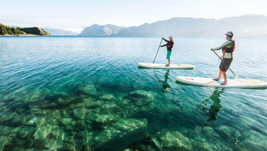 paddle tiqy, Lake Escape