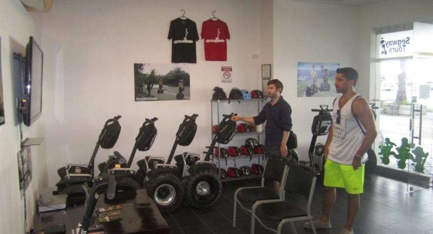 2, Segway Learn and Ride