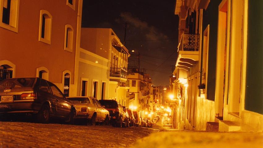 1, Old San Juan Night Walking Tour