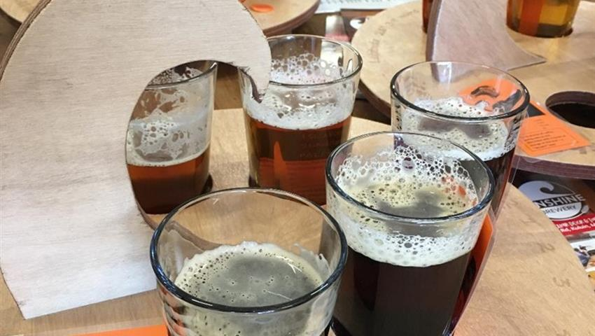 beer tiqy, Low and Slow BBQ and Brewery Tour