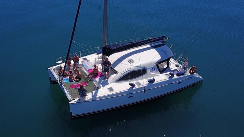 sailing in malaga - tiqy, Malaga Catamaran Tour
