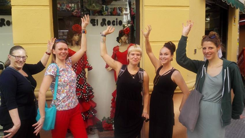 flamenco performance - Tiqy, Malaga Free Walking Tour
