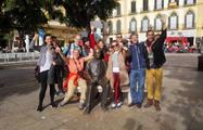 big group in the end of the tour - tiqy, Malaga Free Walking Tour
