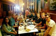 tasting tapas in a bar - tiqy, Malaga Tapas Tour