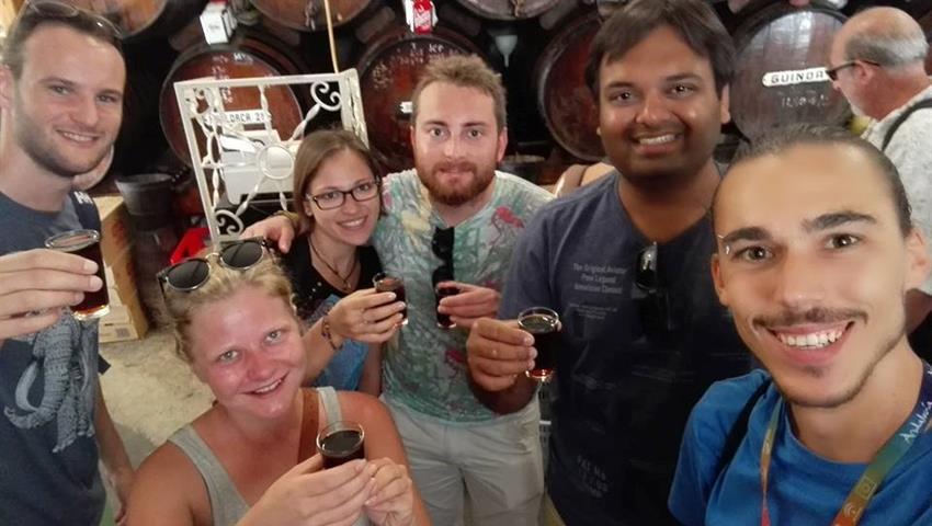 beer tasting - tiqy, Malaga Tapas Tour