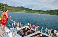 Beyond the sea, Tour por Manuel Antonio en Catamaran
