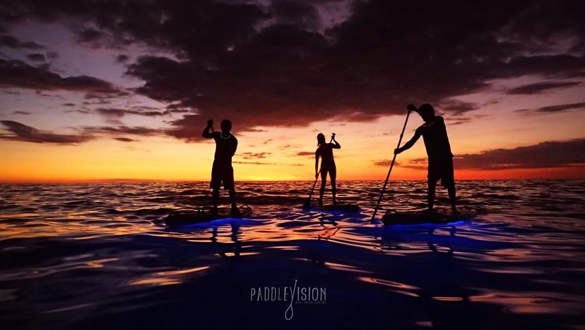 Chill, Tour de Paddle Boarding Nocturno en Manuel Antonio