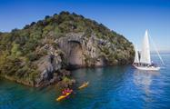 carving rocks, Maori Rock Carvings Tour