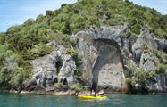 Taupo tiqy, Maori Rock Carvings Tour
