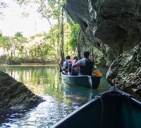 Barton Creek Canoeing Tour