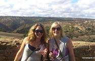 McLaren Vale Bike and Wine Day Tour girls wine, McLaren Vale Bike and Wine Day Tour