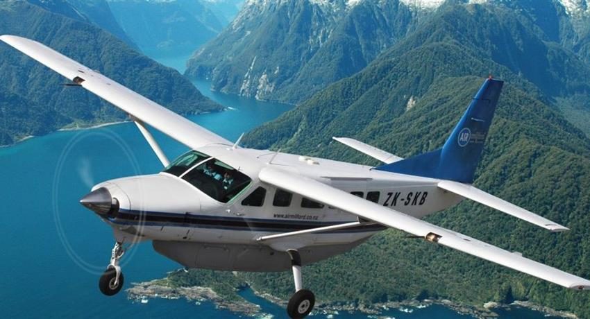 airplane tiqy, Milford Sound Fly Back Tour