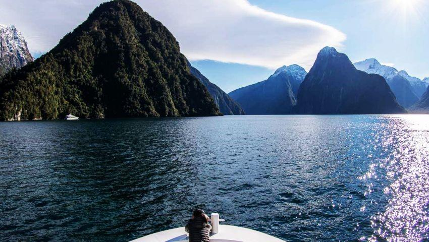 view tiqy, Milford Sound Vuelo de Regreso Tour