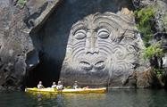 carving rocks tiqy, Mine Bay Rock Carvings Tour