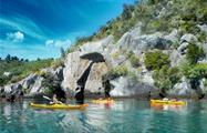 kayaking tiqy, Mine Bay Rock Carvings Tour