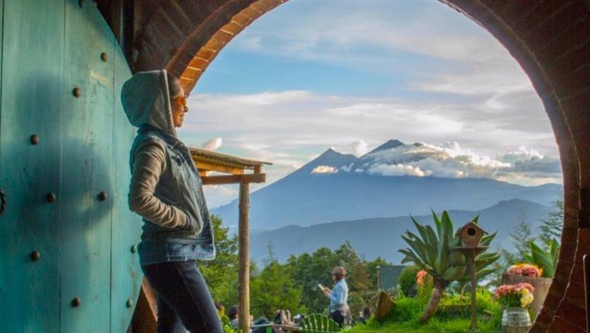 Senderismo en Cerro de la Cruz - Tiqy, Mini Adventure in Antigua
