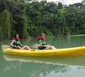 Monkey Island And Kayak Tour