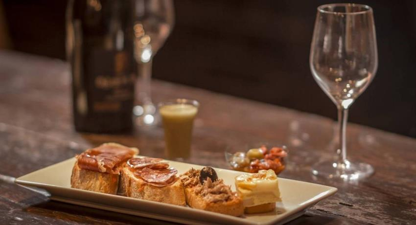Tapas Tasting, Montserrat Tapas and Wine