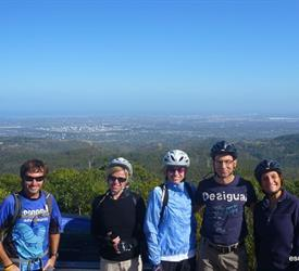 Mount Lofty Downhill Bike Trip