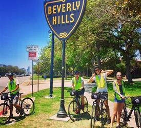 Movie Star Homes Bike Tour