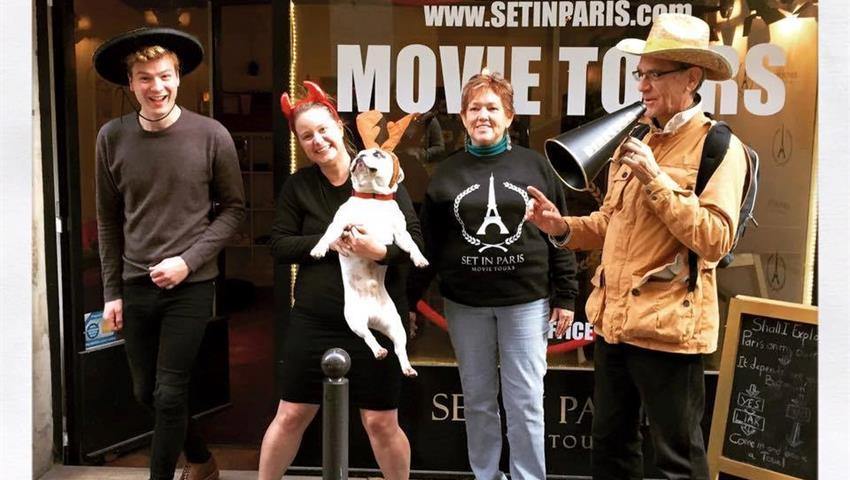 offices, Paris Movie Tour