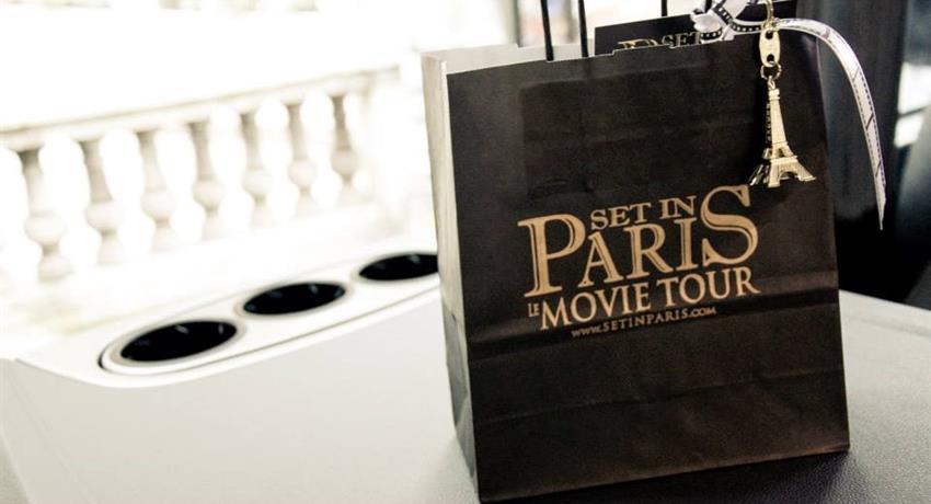 souvenir, Paris Movie Tour