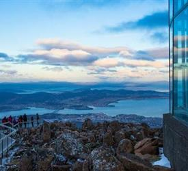 Mt Wellington and Tahune AirWalk Sightseeing Tour