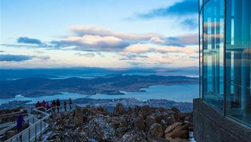 Wellington Mountain, Mt Wellington and Tahune AirWalk Sightseeing Tour