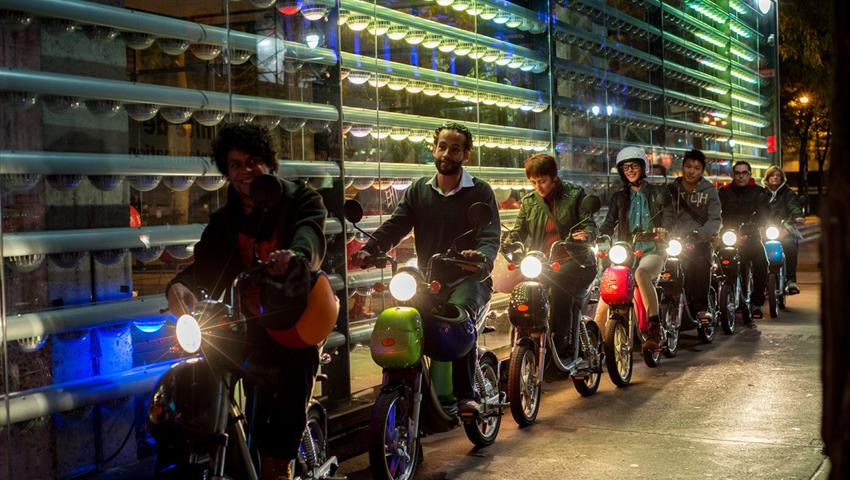Scooter, Tour Nocturno en Scooter