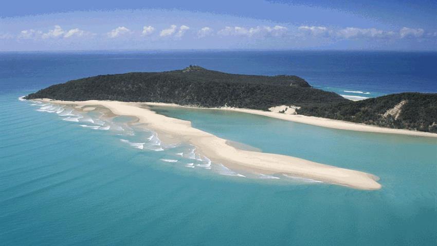 Double Island tiqy, Noosa to Rainbow Beach Tour