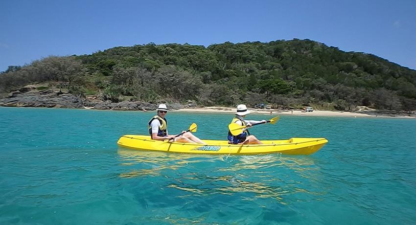 kayak tiqy, Recorrido de Noosa hasta Rainbow Beach